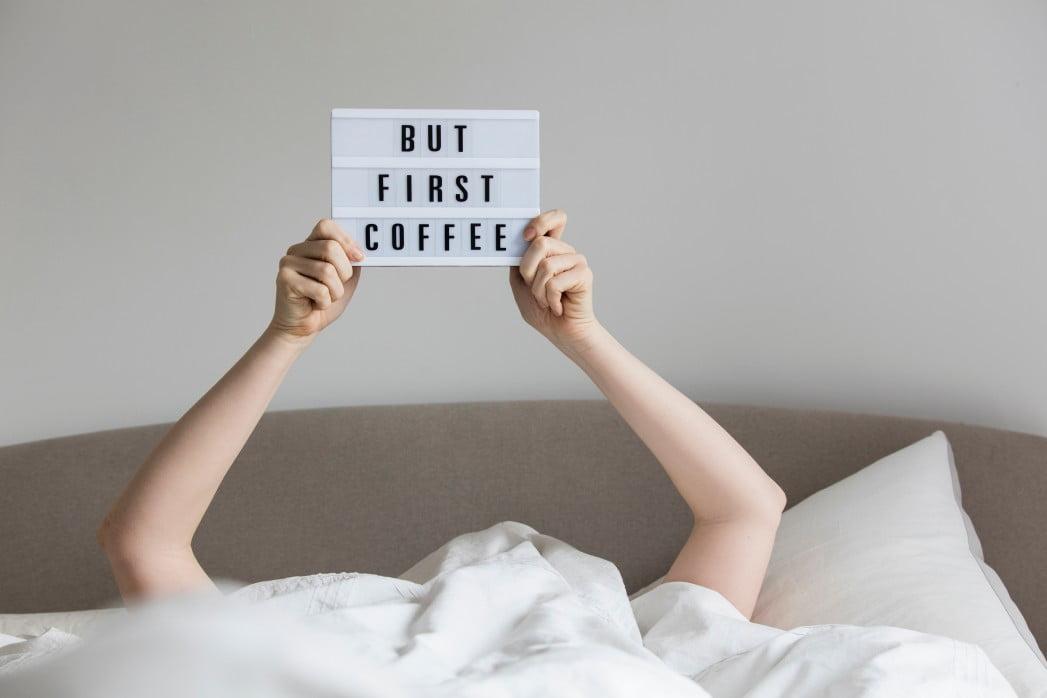 cafeaua de dimineata mesaj amuzant by coffeemap